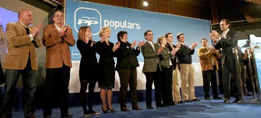 José Ramón Bauzá, en marzo de 2010, en el congreso en que fue elegido presidente del PP balear.