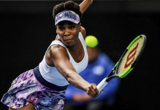 La tenista estadounidense Venus Williams durante un partido del Abierto de Australia.