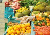 Mercado semanal de Can Picafort .