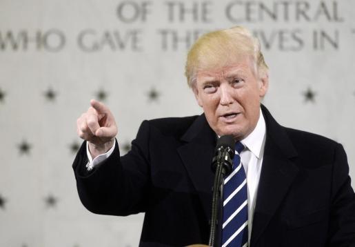 El presidente de Estados Unidos, Donald Tump, durante una rueda de prensa.