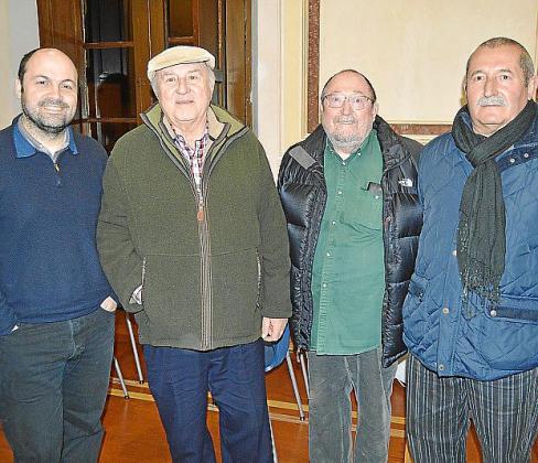 Pere Pol, Toni Pol, Ramón Cavaller y Bernat Pujol.