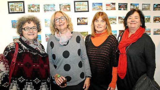 Bel Garau, Esther Olondriz, Cati Ferrando y Pepa Lloret.