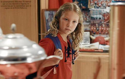 Hannah Herman, una de las protagonistas, en una de las escenas de la película.