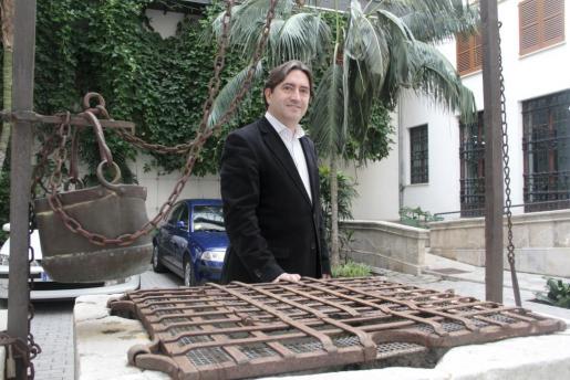 El portavoz del PP en el Consell de Mallorca, Mauricio Rovira.