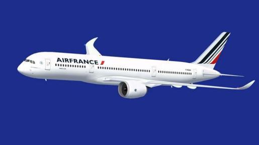 Un avión de la compañía Air France.