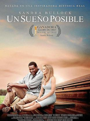 Cartel de 'Un sueño posible (The Blind Side)'.