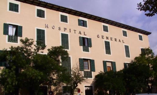 En la imagen, el Hospital General de Palma.