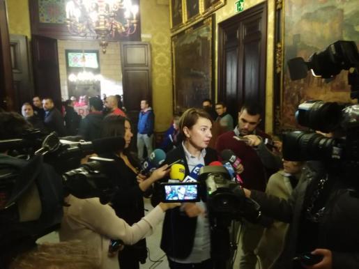 La portavoz del PP en el Ajuntament de Palma, Marga Durán, ha criticado este jueves la subida del precio del agua en Palma a pesar de las últimas lluvias.