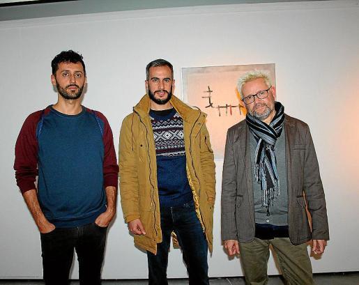 Nauzet Mayor, Damià Vives y Juanjo Oliva.