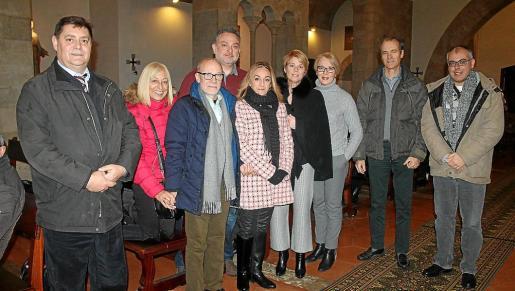 Sebastià Barceló, Mercedes Antequera, Lluís Cortés, Miquel Sagreras, Maria Carrasco, Aina Aguiló, Lina Bonnín, Tomeu Bestard e Ignasi Martí.