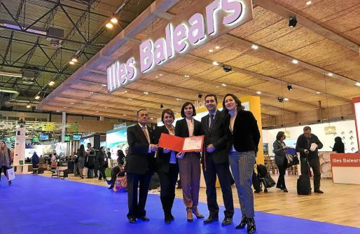 El estand de Baleares fue premiado en el apartado destinado a comunidades autónomas por su profesionalidad, promoción y diseño