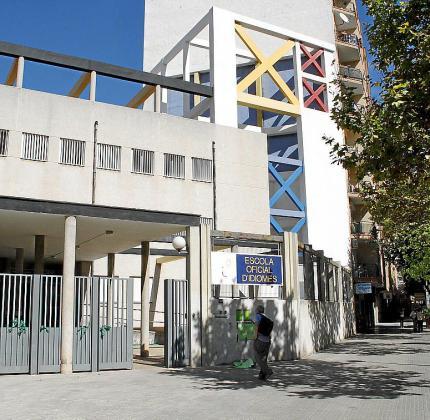Imagen de la sede de la Escola Oficial d'Idiomes en Palma.