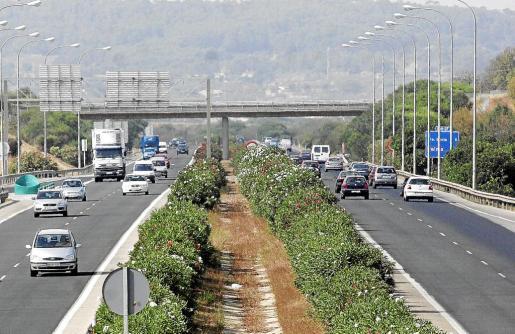 Imagen de la autopista de Palma a Inca
