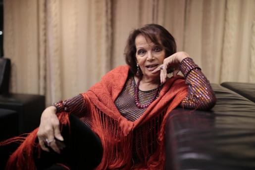 Imagen de la actriz Claudia Cardinale