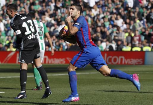 El uruguayo Luis Suárez ha sido el autor del tanto del empate.
