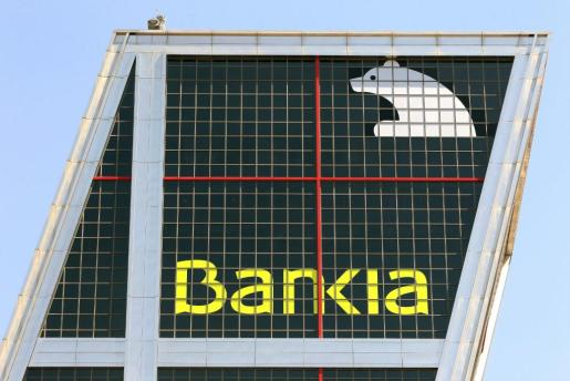 Vista de la sede central de Bankia.