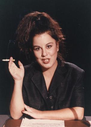 Fotografía de archivo, tomada en 1980, de la periodista y presentadora de televisión Paloma Chamorro.