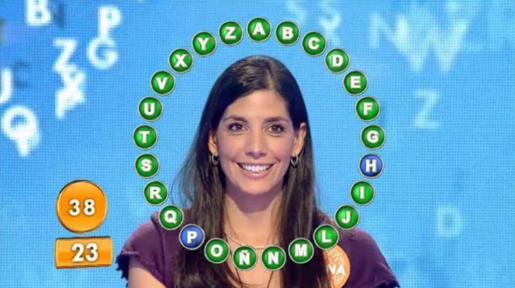 Fotografía facilitada por Mediaset de la concursante de 'Pasapalabra', Susana García.
