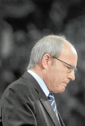 El presidente en funciones de la Generalitat.