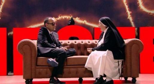 La religiosa fue entrevistada en el espacio de Risto Mejide.
