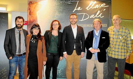 David Fernández, Noemí Garcies, Joana María Adrover, José Hila, Nicolás Decharmes y Antoni l'Amo.