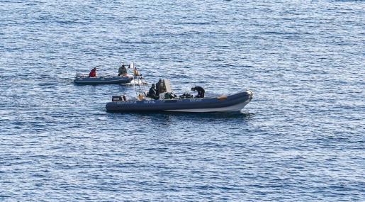 La Guardia Civil ha participado en las tareas de búsqueda.