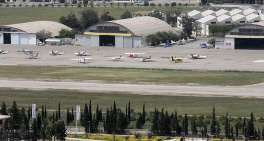 Imagen del aeropuerto de Son Bonet facilitada por AENA.