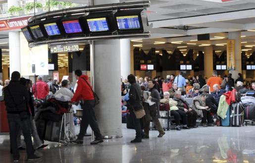 Imagen del aeropuerto de Palma el pasado sábado 4 de diciembre.