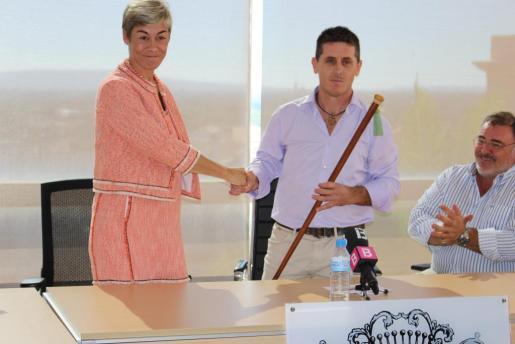 El alcalde de Lloseta, Chema Muñoz (PSIB), el día de su investidura.