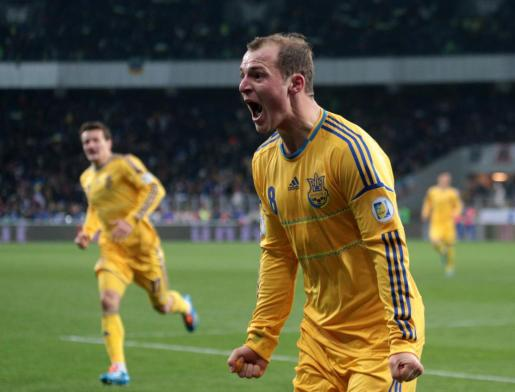 Imagen de archivo del jugador ucraniano Roman Zozulya.