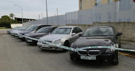 El vehículo más costoso de los intervenidos en la 'operación Tiliuin' es un BMW casi nuevo.