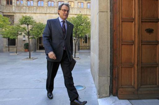 El expresidente de la Generalitat de Cataluña, Artur Mas, en una fotografía de archivo.