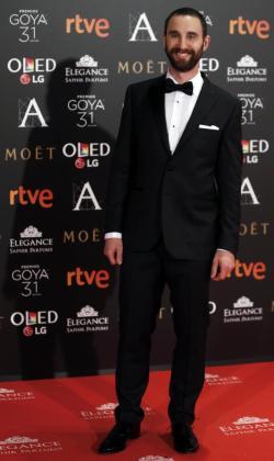 Dani Rovira, que fue un año más el presentador de los Goya.