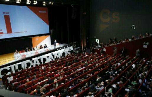 La IV Asamblea General de C's ha elegido este fin de semana a 125 miembros del Consejo General de toda España.