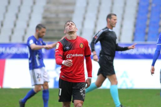 El RCD Mallorca pierde ante el Real Oviedo.