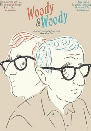 Cartel de 'Woody & Woody' cortometraje de animación de CEF Producciones firmado por Jaume Carrió.
