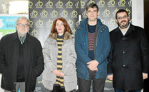 Andreu Manresa, María Paula Ginard, Sebastià Solivellas y Vicenç Vidal.