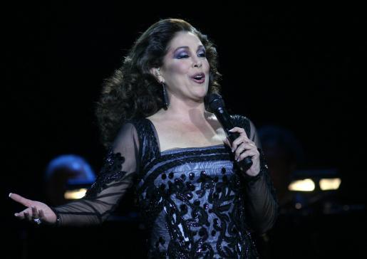 Isabel Pantoja, en una de sus actuaciones.