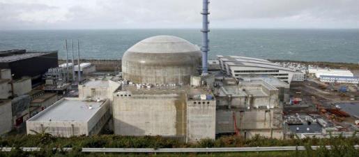 La central nuclear de Flamanville, en el norte de Francia y operada por EDF
