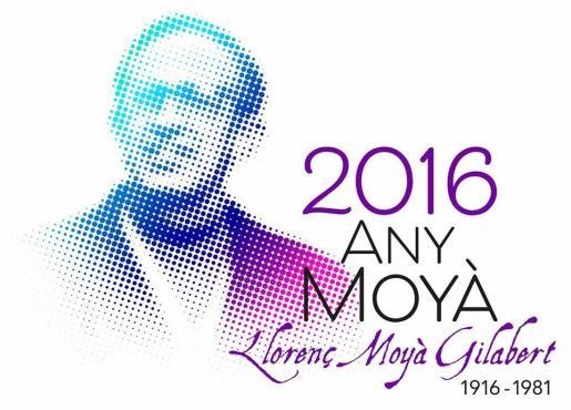 En la imagen, el logo del Any Moyà.
