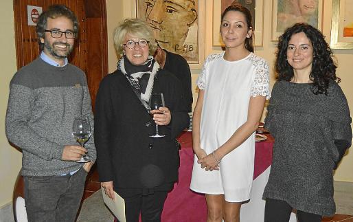 Carles Rubí, Cori Saint Geneise, Carolina Ferragut y Margalida Vinyes.