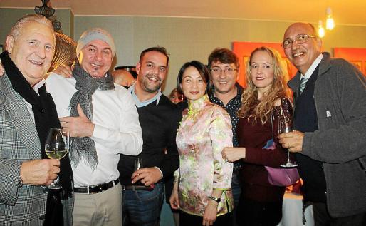 Pep Sans, Agustín Martínez 'El Casta', Norberto Pedrini, Weifew Wang Lin, Carlos Durán, Malú Fonseca y Pedro Rotger.