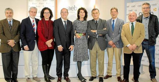Hernán Gioseffi, Eduardo López, Margalida Puigserver, Juli Fuster, Carmen Planas, Javier Cortés, Antonio Real, Francisco Martorell y Antoni Aguiló.