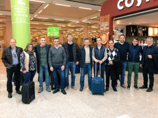 La mayoría de la expedición balear, con el presidente Miquel Vidal a la cabeza, ha viajado este mismo viernes a Madrid.