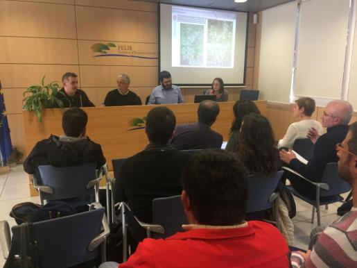 El conseller Vicenç Vidal explica que habrá una resolución declarando las Islas Baleares zona afectada por la 'Xylella'.