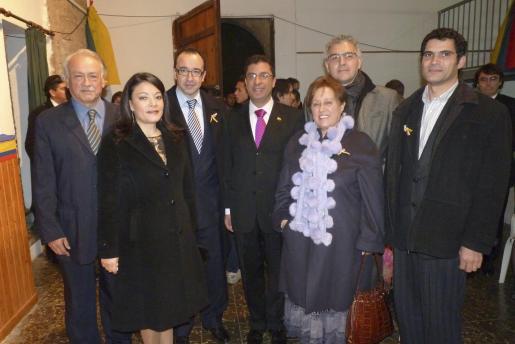 Tito Hidalgo, Paulina Bautista, Juan Manuel Gómez, Francisco Contreras, Encarna Pastor, Pedro Sierra y Antoni Mulet.