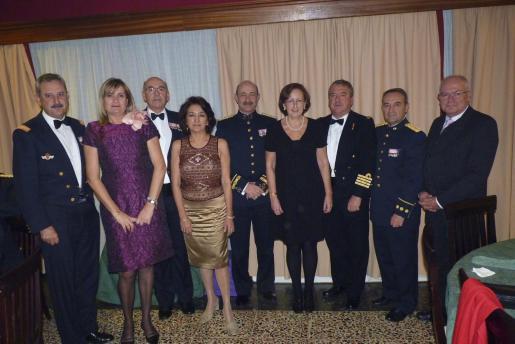 Carlos de Palma, Genoveva López, Cristòfol Sbert, Soledad Haro, Mariano Estaún, Isabel Aibar, José María Urrutia, Paco Lanza y Nicolás Herrero.