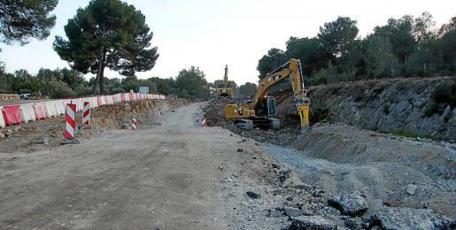El Consell de Mallorca prevé abrir una vía provisional a partir del próximo martes.
