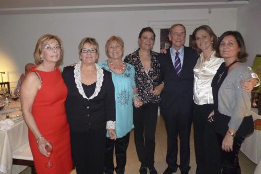 Rocío Aznar, María Luisa Monzó, Juana Pons, Jerónima Marqués, Miguel Lladó, María Luisa Marqués y Juana María Pomar.