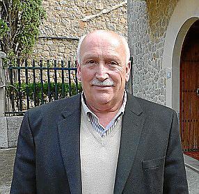 El alcalde de Valldemossa, Nadal Torres.